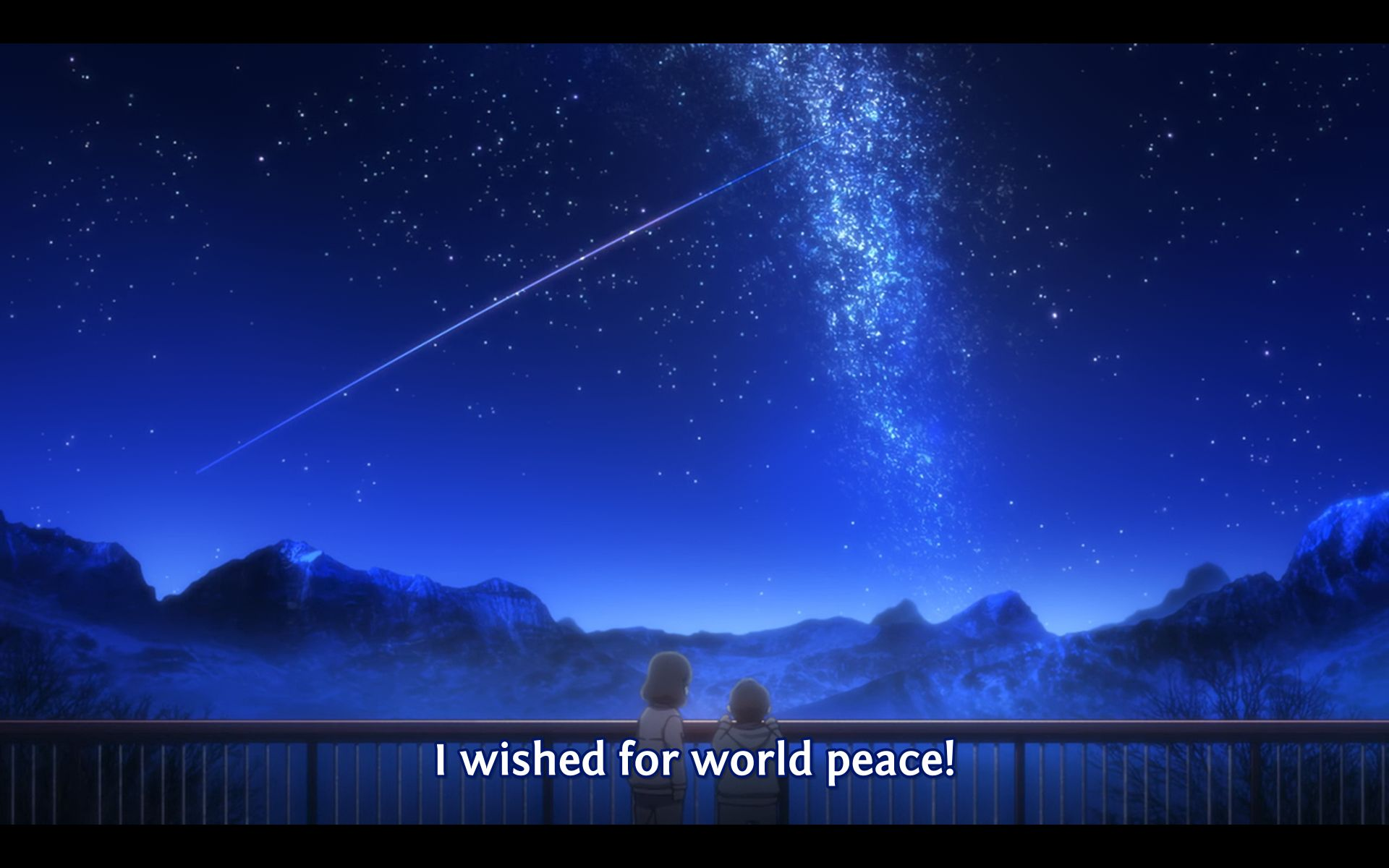 You have to watch this anime to find out whether their wish will come true or not.