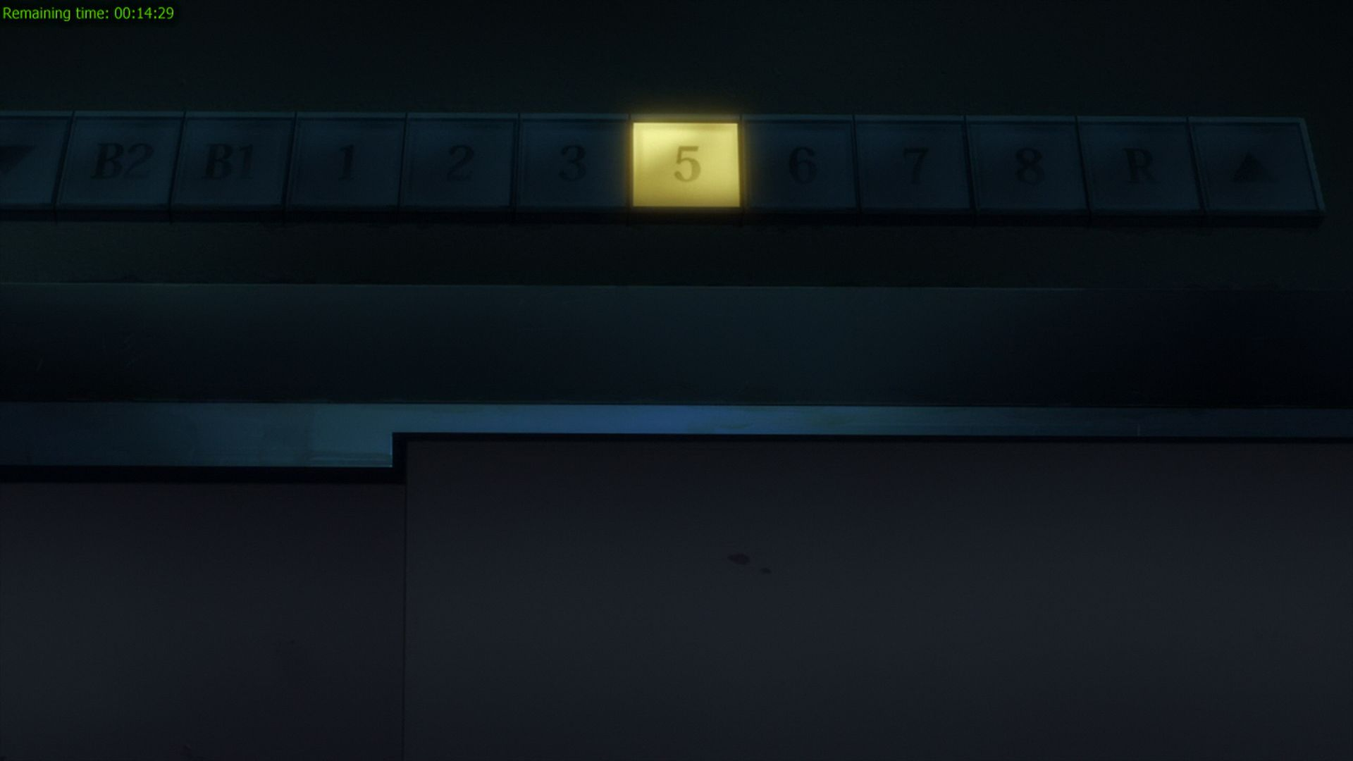 Befitting the genre this anime falls into, the hospitals in this anime also practised skipping death numbers for their floors' numbering scheme. I've seen this in real life, but didn't really expect to see it in my anime.