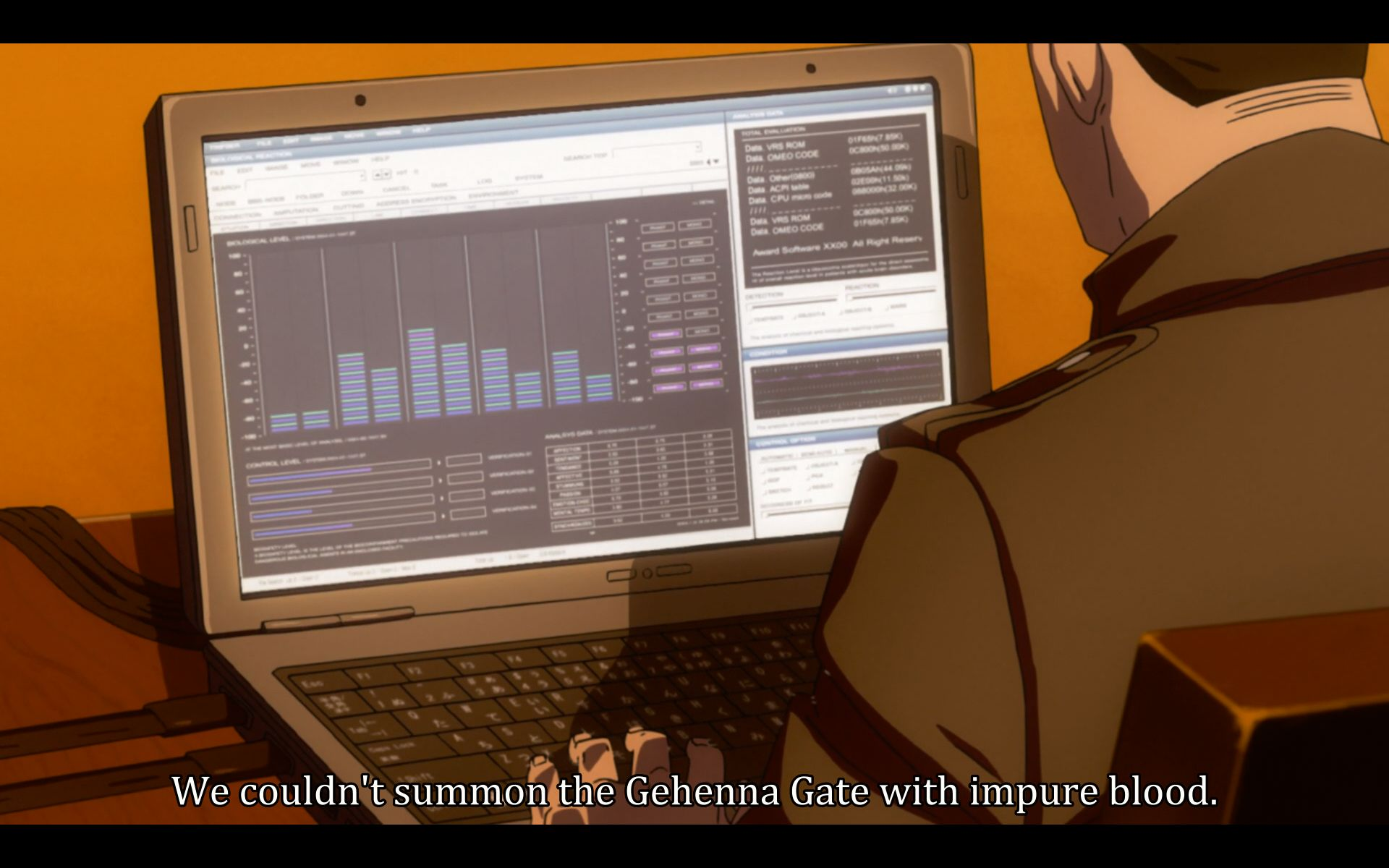 What does this program has anything to do with opening the gate to Hell?
