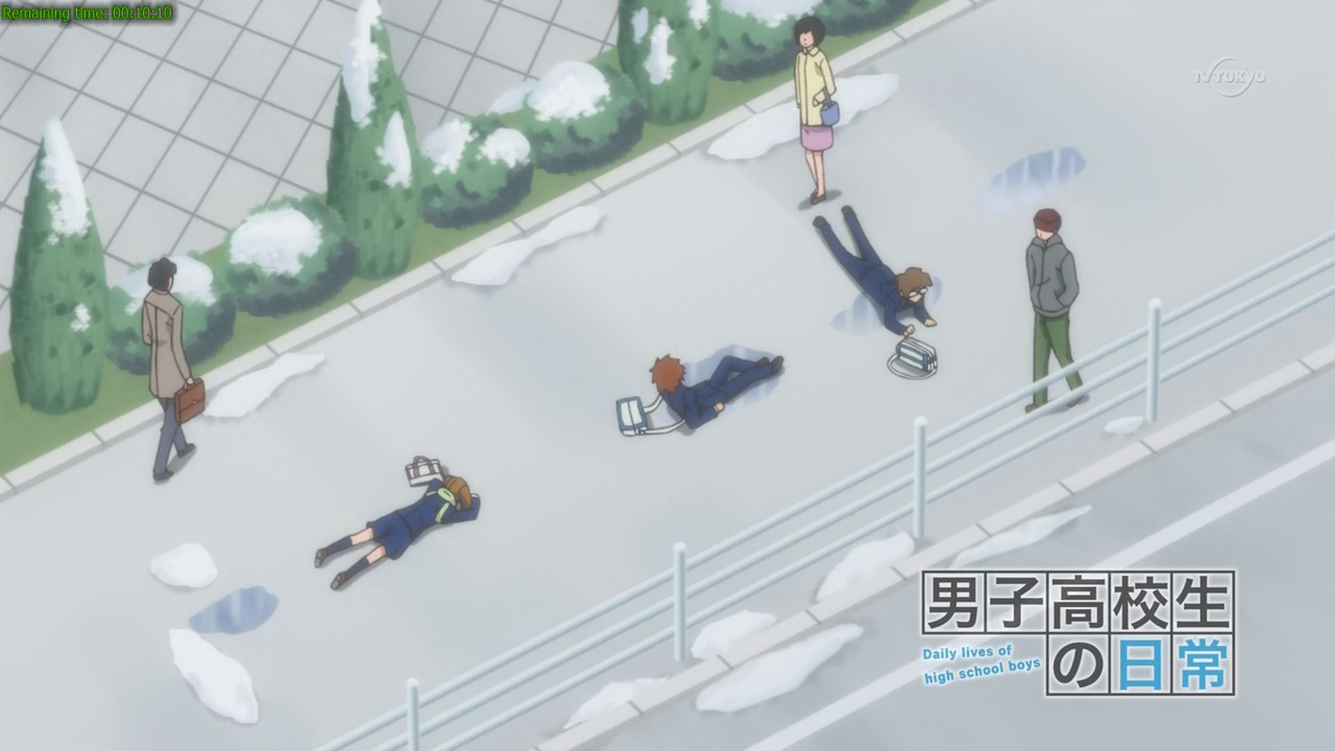 Want to know how those three characters ends up on the ground? Watch this seriesd then!