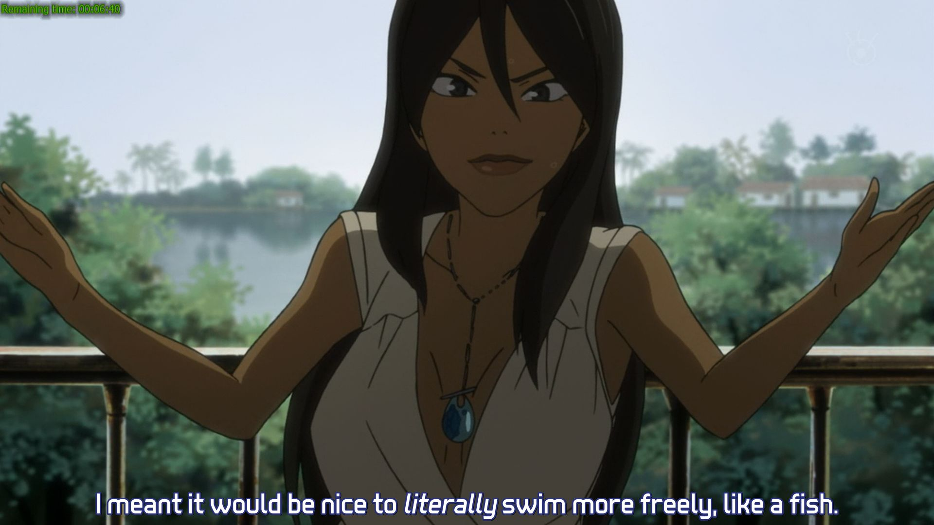 The Michiko of this anime, and one of the best characters of this anime too.