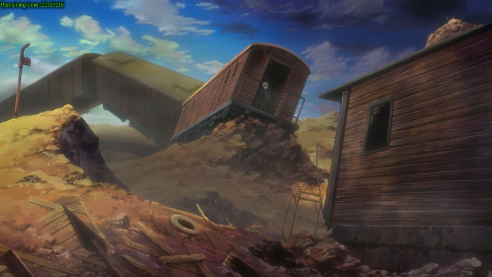 Kết quả hình ảnh cho Train accident anime